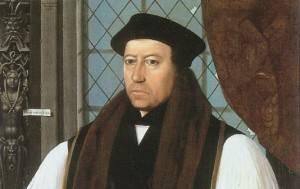 Cranmer, Thomas  –  First Anglican Archbishop of Canterbury