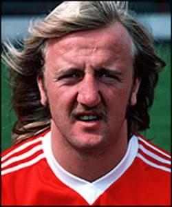 Burns, Kenny – Scottish international played for Grantham