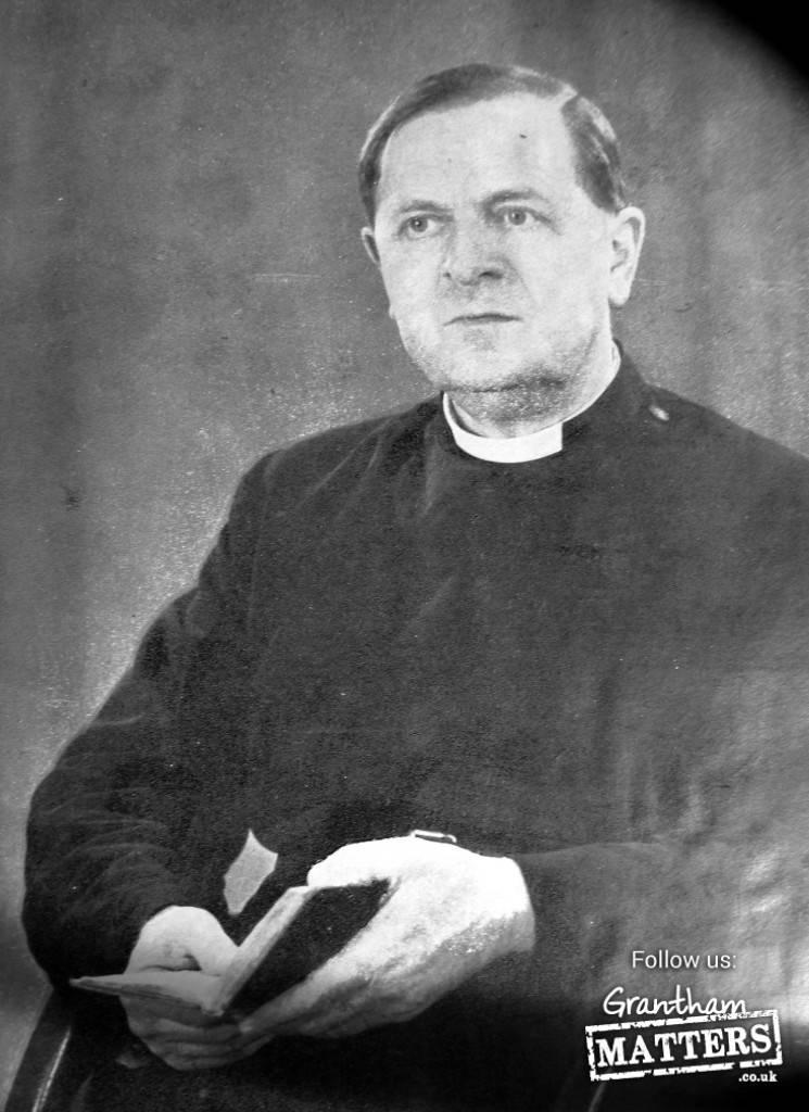 Canon Harold Leeke Vicar of St Wulfram's