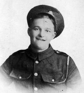 Herbert Garnham, killed in action 1918.