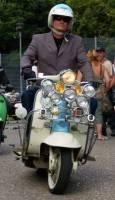 Woollas, Steve – Scooter fan formed Grantham Daytrippers Club