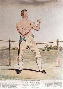 Cribb, Tom – Won world title fight near Grantham