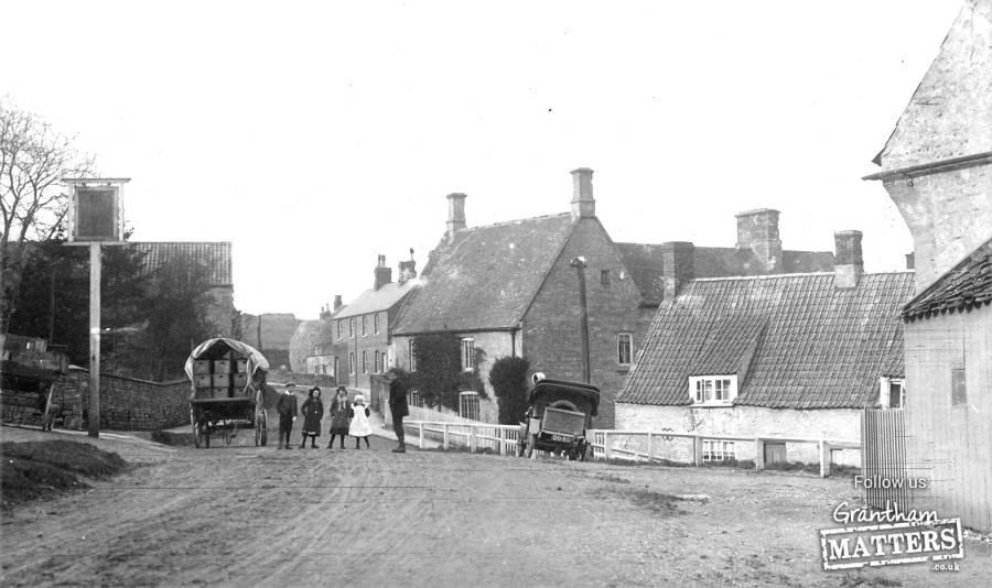 High Street, Castrle Bytham, circa 1910