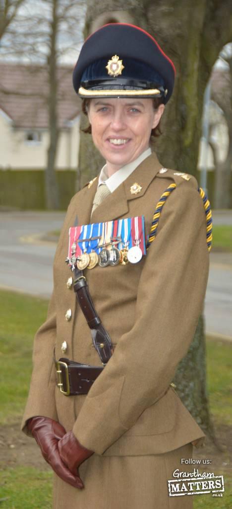 Lieutenant Colonel Victoria Reid. Photo: Sgt Brian Gamble