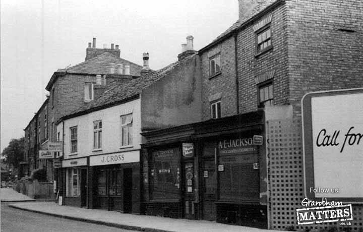 Corner of North Street , looking north 1962