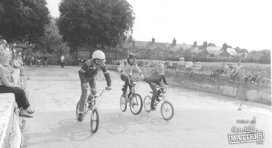A skate & BMX park in 1984
