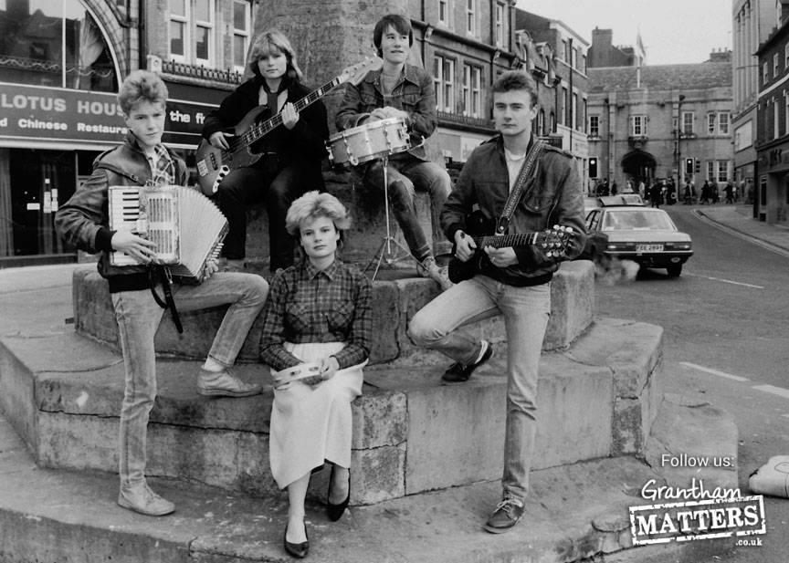 The Six. From left, back - Brudget Chappel & Ruebin Bellamy; Front - Stuart Wood,Diana Katz, & George Clifton