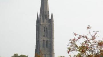 St Wulfram's abseil today – photos