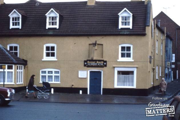 Maltshovels pub, former O'Haughtey's, Blue Man and Green Man. Later New Era restaurant. Wide Westgate, corner of Welby Street.