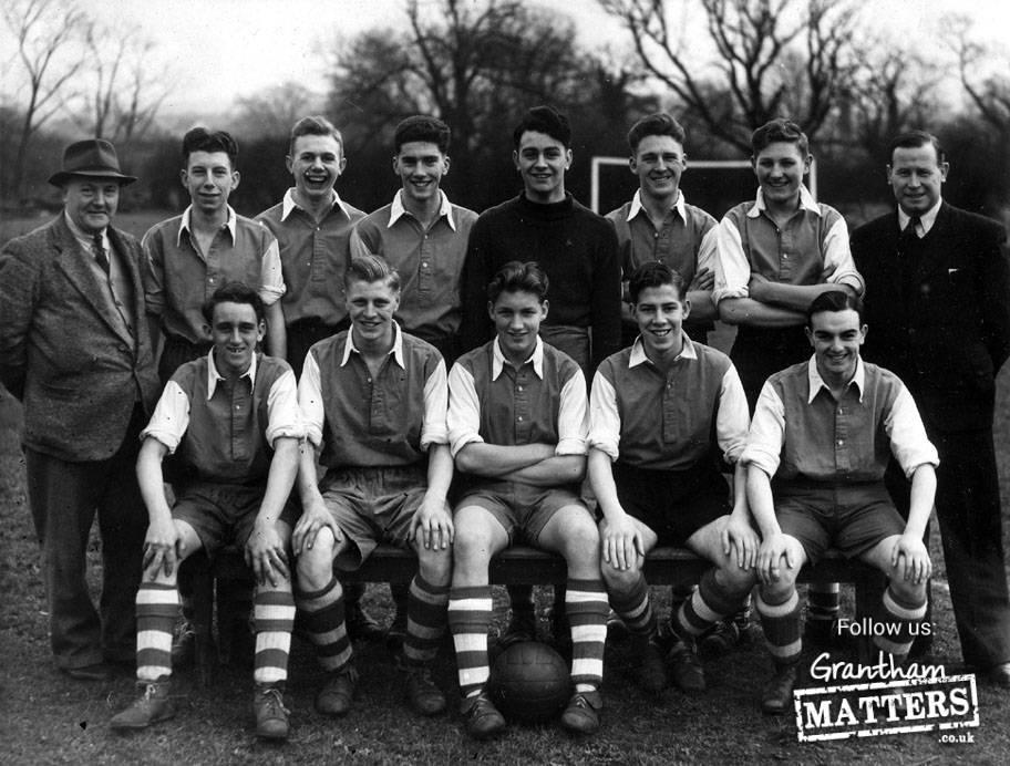 St Anne's Fooball Club.  B2-John Ramsden, B7 John Little