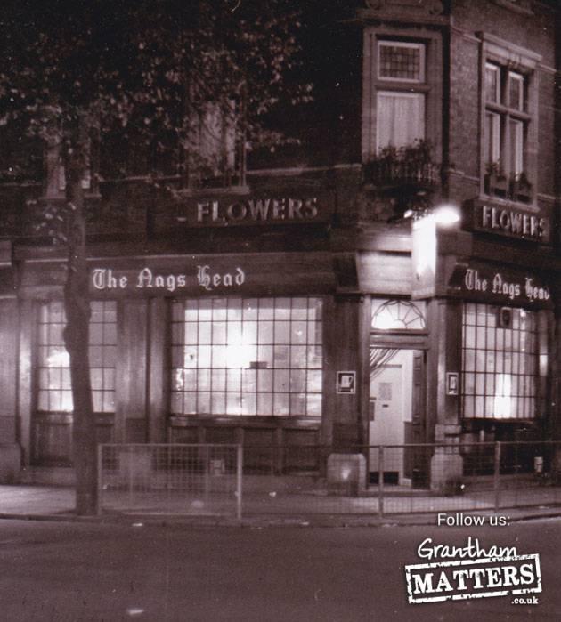 Nag's Head, Wharf Road in 1964