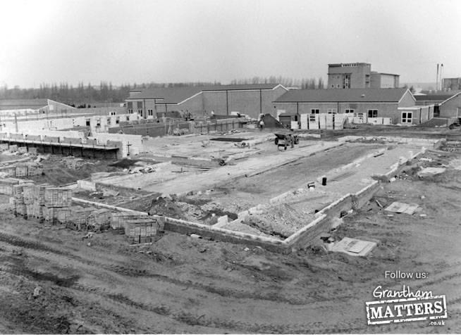 Majopr Developments begin at Grantham Hospital in 1985. 3.5.85