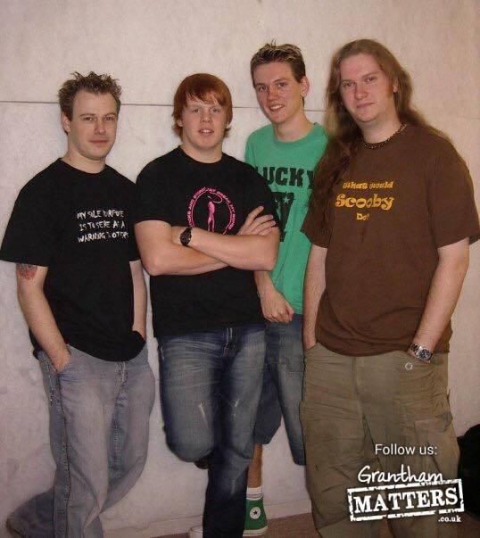 Left to right ?? Adam Mason - Lead Guitar / Backing Vocals Kyle Clarke - Drums Narc Gough - Lead Vocals / Rhythm Guitar Matt Taylor - Bass Guitar / Backing Vocals Adam Mason