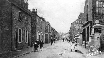 Wharf Road a century ago