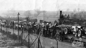 When Grantham built tractors