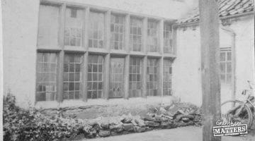 Tudor window was saved