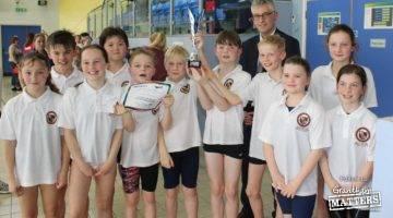 Grantham school wins county titles