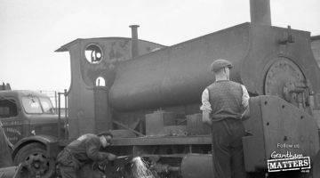 Old locos in Grantham