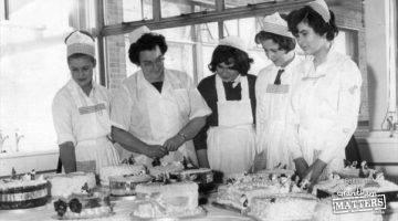 Kitchen time at St Wulfram's School