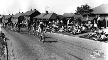 When Princess Drive had a proper cycle track