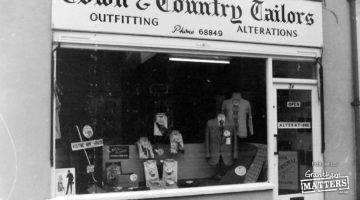 Who recalls this Grantham shop?