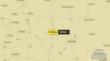 wind warning grantham
