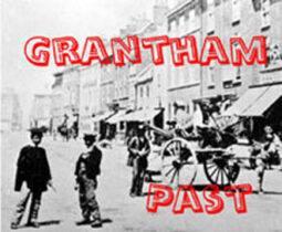 Village near Grantham more than a century ago