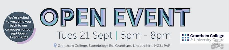 Grantham College University open event