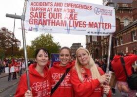 Grantham Hospital campaigner's letter to Grantham MP
