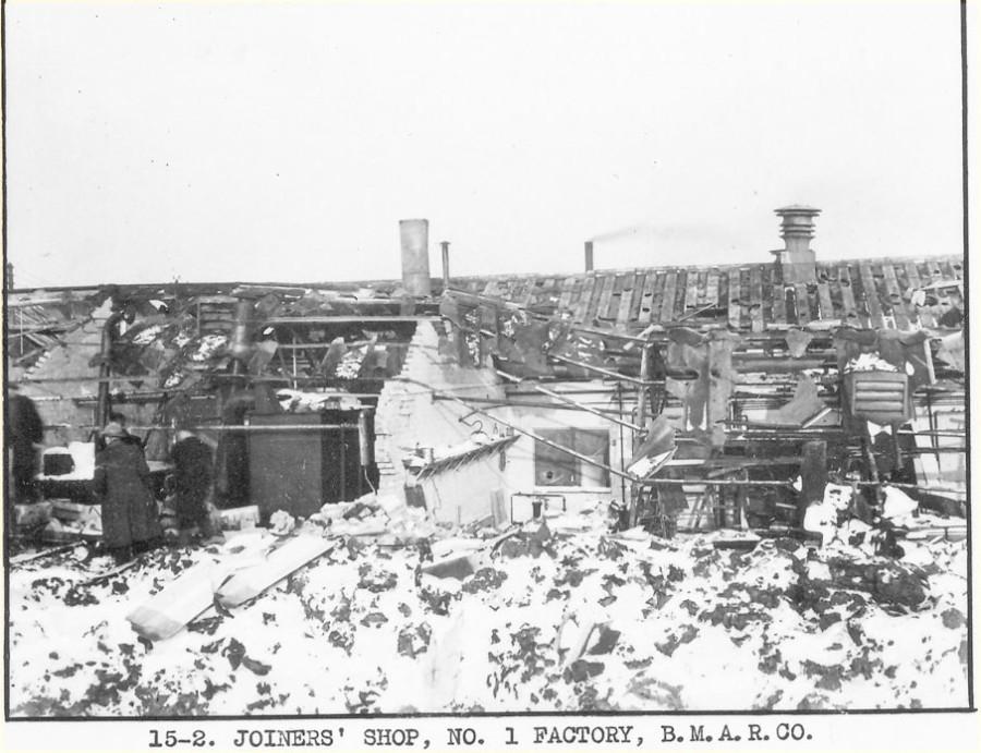 1941 Bmarco bomb damage